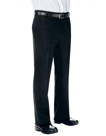 Pantalone Nero Senza Pinces...