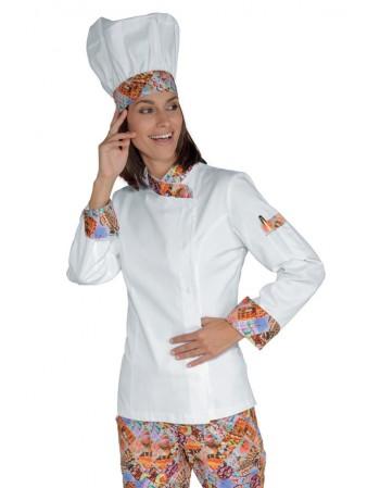 Giacca Lady Chef Cuoco...