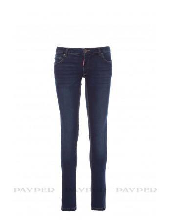 Pantalone Jeans Donna...