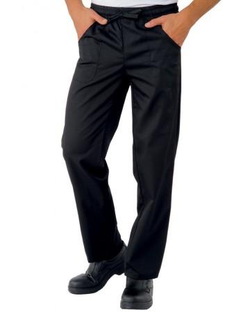 Pantalone con Elastico Nero...