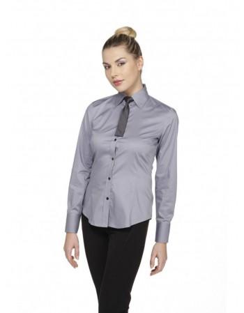 Camicia donna grigio...
