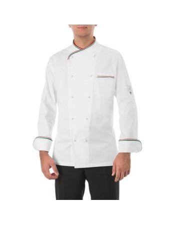 Giacca cuoco bianco...
